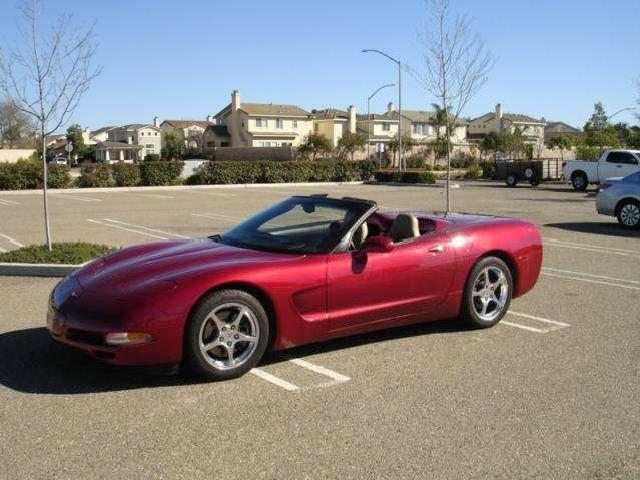 Chevrolet Corvette Base Convertible 2 Door
