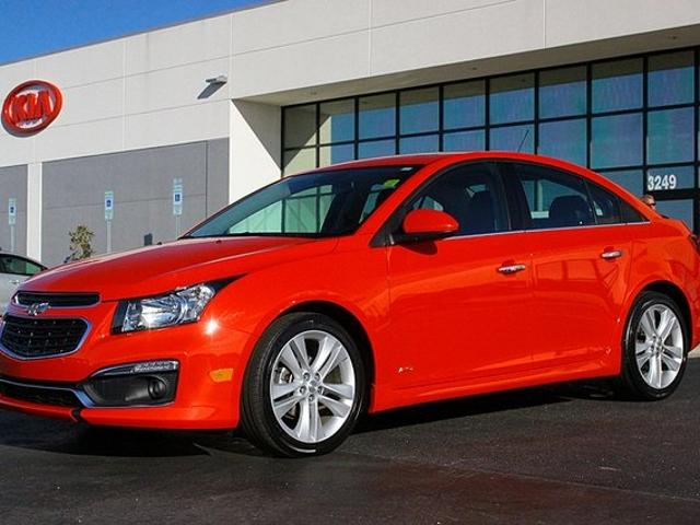 Chevrolet Cruze In Rocky Mount Used Red Mitula Cars