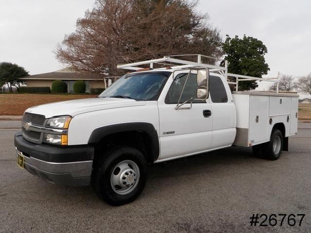 Chevy 3500 Dually Utility Bed Truck Mitula Cars