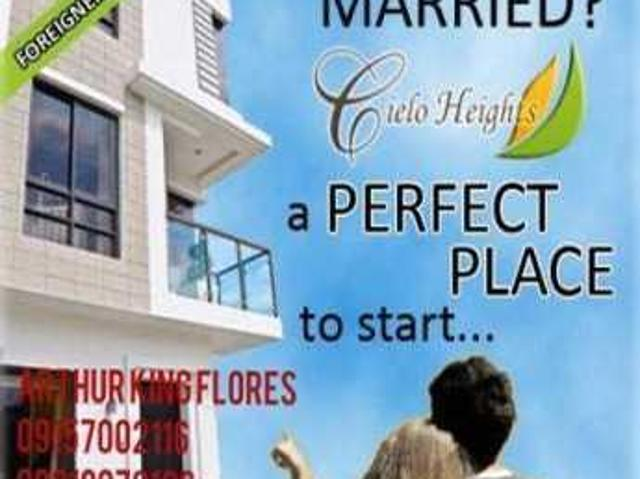 Cielo Hts Multinational Nr Airport Dutyfree Smsucat Townhouse Sale