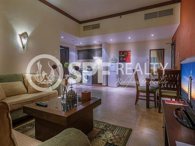 Classic 1 Bed Apt In First Central Hotel Apt Tecom Aed 105,000