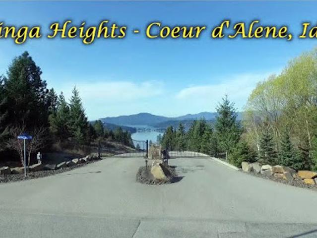 Coeur D'alene, Syringa Heights. One Of The Last View