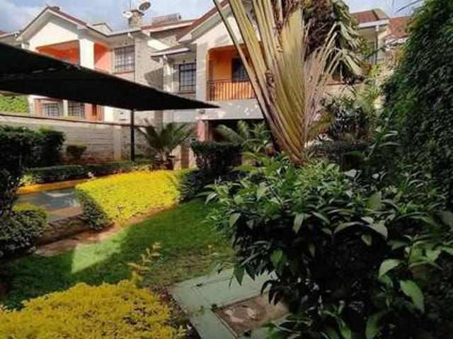 Comfortable Four Bedroom Maisonette In Muthaiga