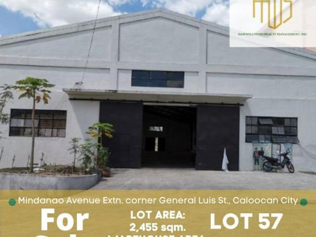 Commercial Lot With Warehouse For Sale In Mindanao Ave Ext