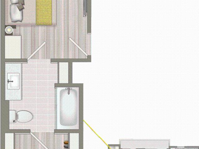 Concourse Ascent Furnished Co Living Master Suite B1