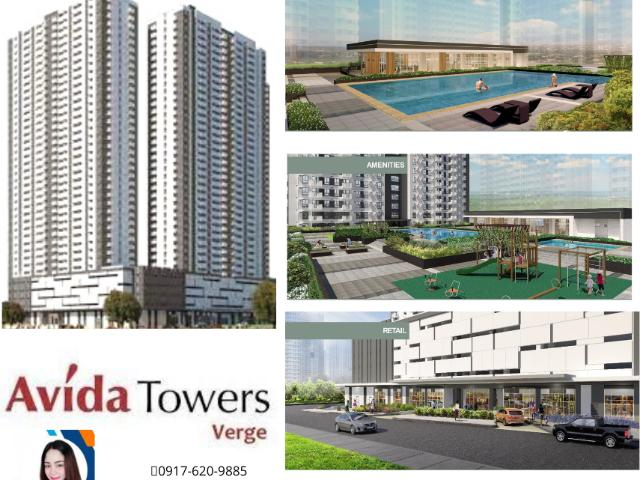 Condo For Sale In Mandaluyong Avida Towers Verge, Nr. Megamall