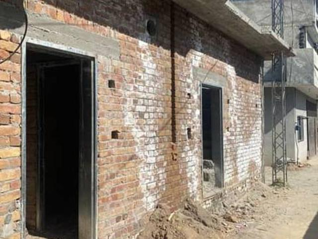 Corner House Singal Story Structure For Sale