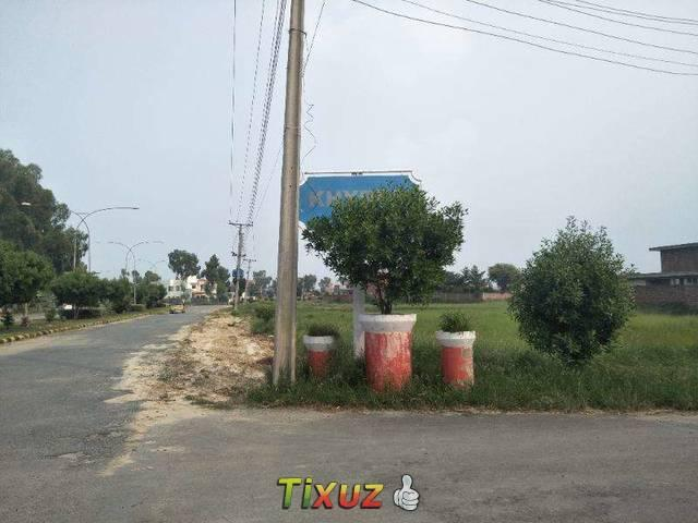 Corner One Kanal Residential Plot For Sale In Rachna Block Chinar Bagh
