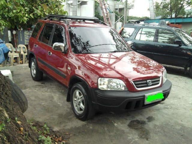Crv98 automatic red not flooded trade in ok