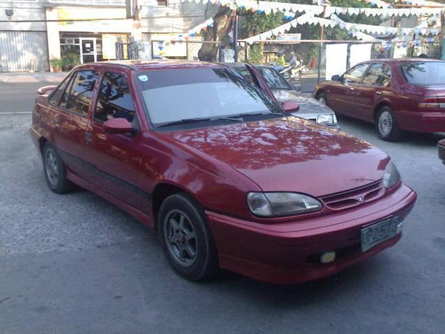 Daewoo Racer 1997 Model Eti, M/t, With Wrap Around Skirts, Spoiler, Fresh