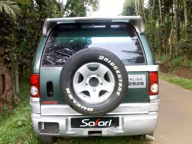 Dc pro kit modified limited edition tata safari