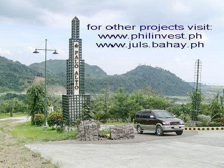 Dev. By Sta.lucia Land Palo Alto Residential Commercial Subdivision Tanay