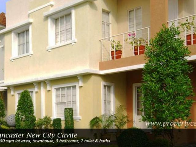 Diana Model House At Lancaster New City Under Construction Townhouse At Cavite