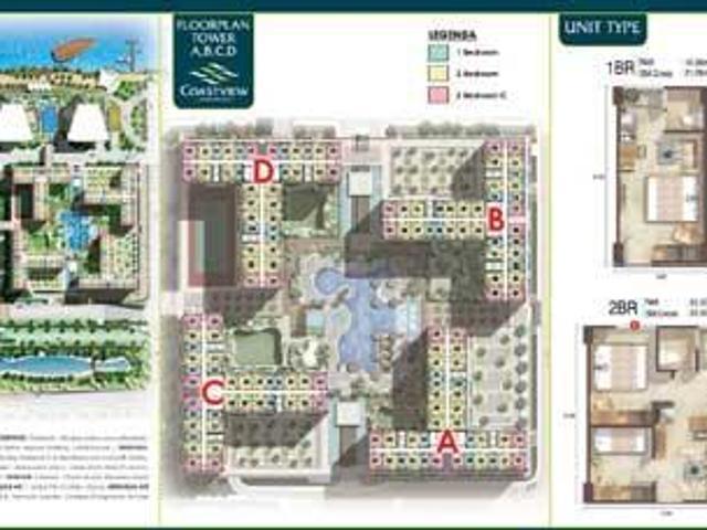 Dijual Apartemen Green Bay Pluit Muara Karang – 1 Br Unfurnished