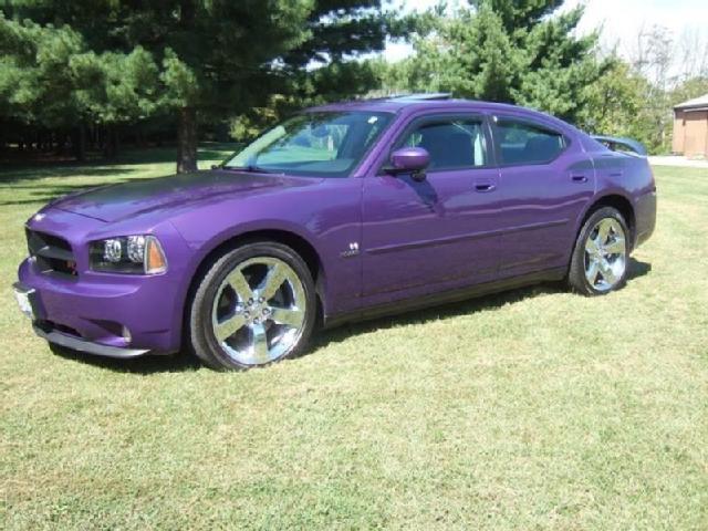 Dodge Charger Used Dodge Charger Purple 2007 Mitula Cars