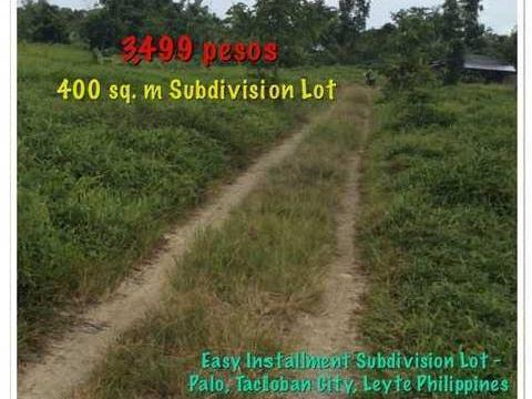 Easy Installmen Lot For Sale In Palo, Leyte Tacloban Philippines