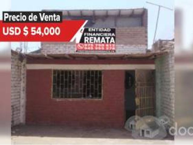 Entidad Financiera Remata Casa De Dos Pisos En Pueblo Nuevo, Chincha 00853