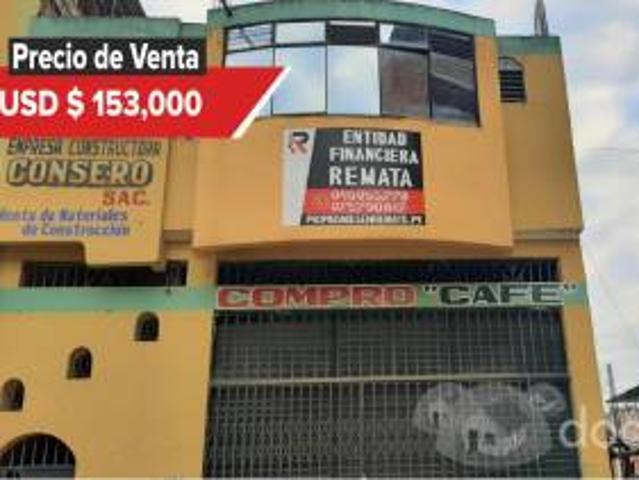 Entidad Financiera Remata Local Comercial En Zona Céntrica En San Ignacio 00869