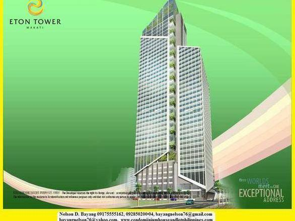 Eton Tower Makati, Makati City Philippines, Ready For Occupancy