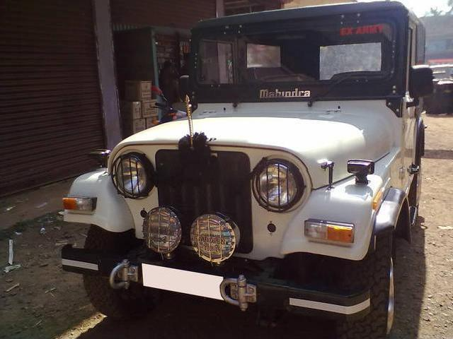 Ex army jeep 4x4 mahindra 550xdb 2003 dec with power steering