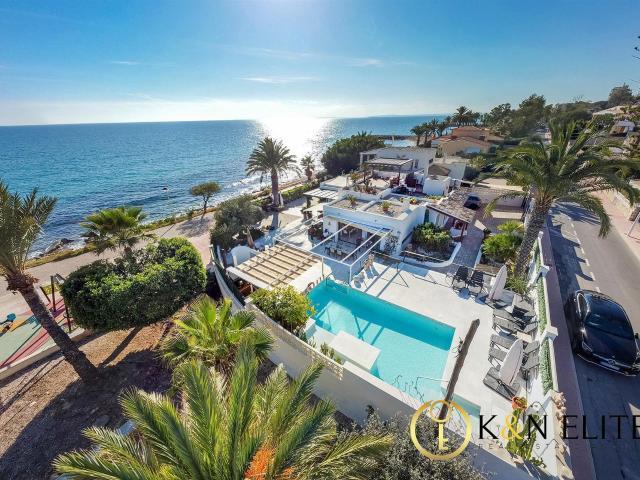 Exclusiva Villa En Primera Linea Del Mediterráneo 170m² Santa Pola