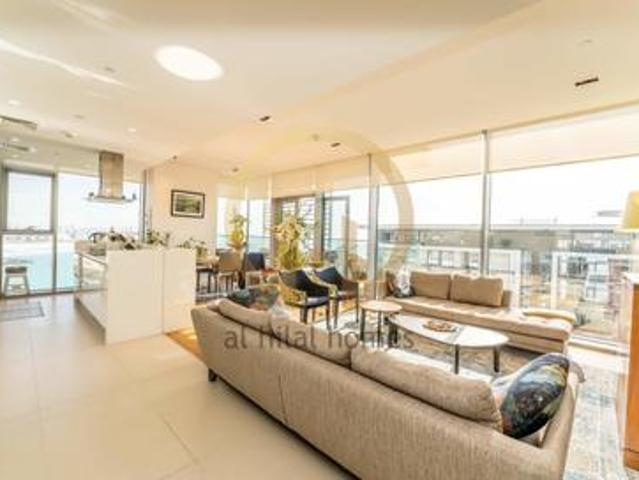 Exclusive | 3 Br + M | Sea View | Furnished