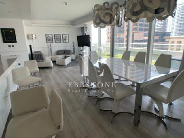 Exclusive Full Marina View 3br Penthouse Waves