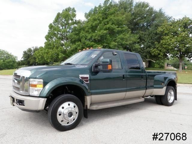 F450 Powerstroke Diesel King Ranch Heated Leather Crew Cab Long Bed We