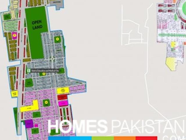 Facing Park 8 Marla Residential Plot Available For Sale
