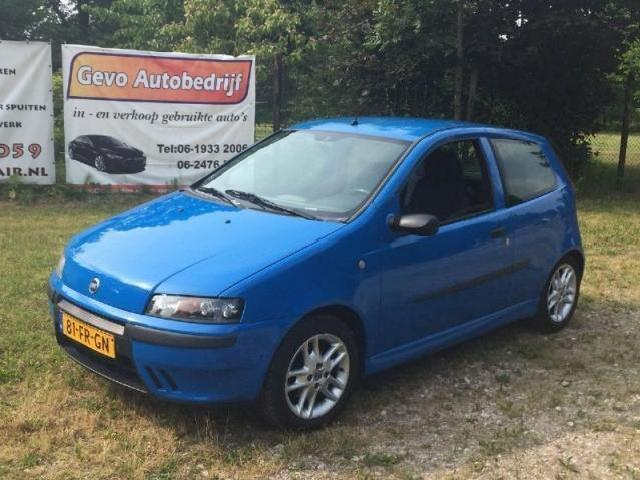Betere Fiat in Blauw - fiat punto sporting blauw Occasions - Mitula Auto's DX-82