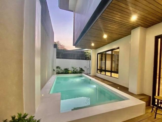 Filinvest East, Brand New House With Swimming Pool
