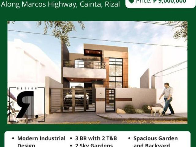 Filinvest East Modern Industrial House For Sale! Below 10m