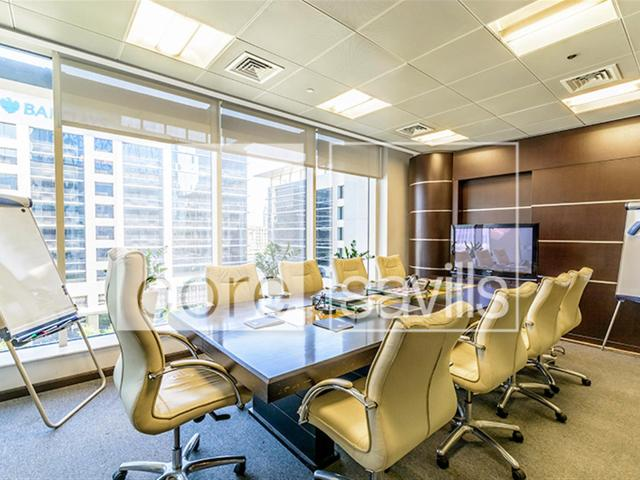 Fitted Office With Partitons For Sale In Downtown Burj Dubai Aed 9,253,496