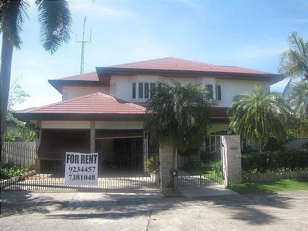 For rent 2 storey house amp lot with pool for rent