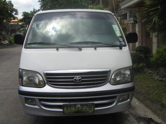 For sale 2003 toyota hi ace 2 0 gl
