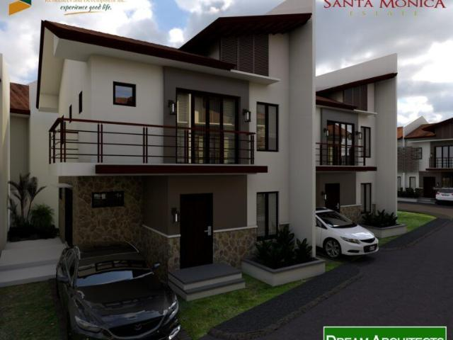 For Sale 3 Bedroom Single Attached House In Sta Monica Tisa Cebu City.