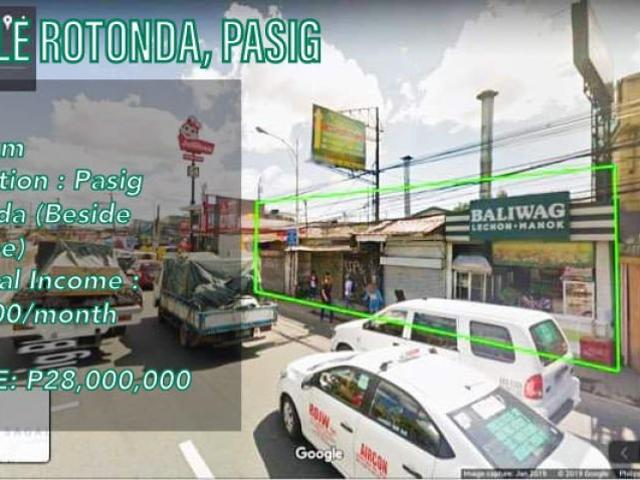 For Sale Commercial Lot In Pasig