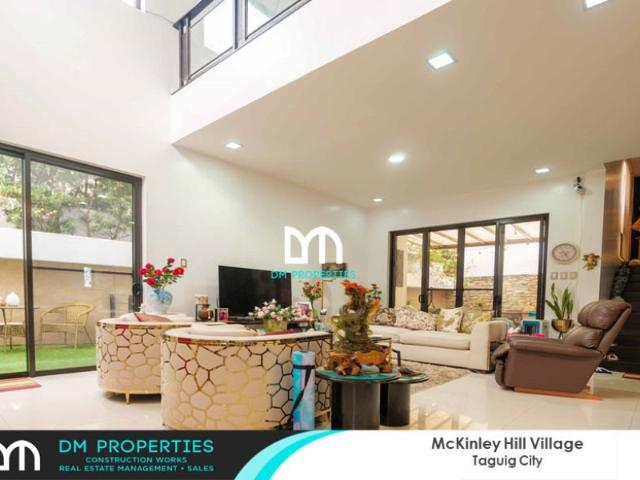 For Sale: House And Lot In Mckinley Hill Village, Taguig City