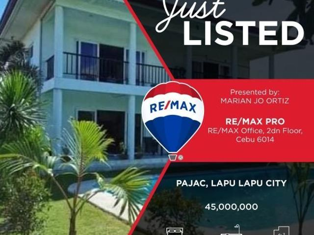 For Sale House And Lot W/swimming Pool In Pajac, Lapulapu