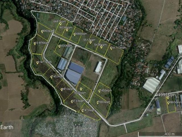 For Sale:industrial Vacant Lots Inside Daichi Industrial Park Silang Cavite