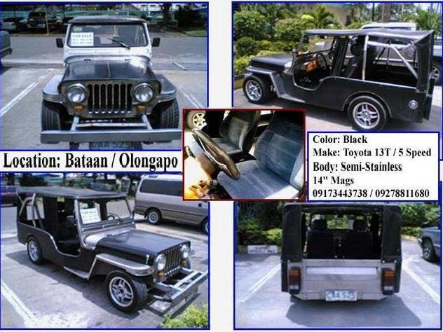 For sale owner type jeep