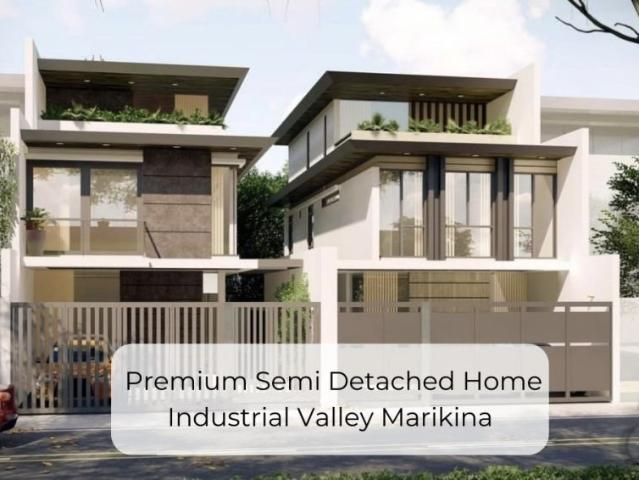 For Sale: Premium Semi Detached Homes At Industrial Valley Marikina