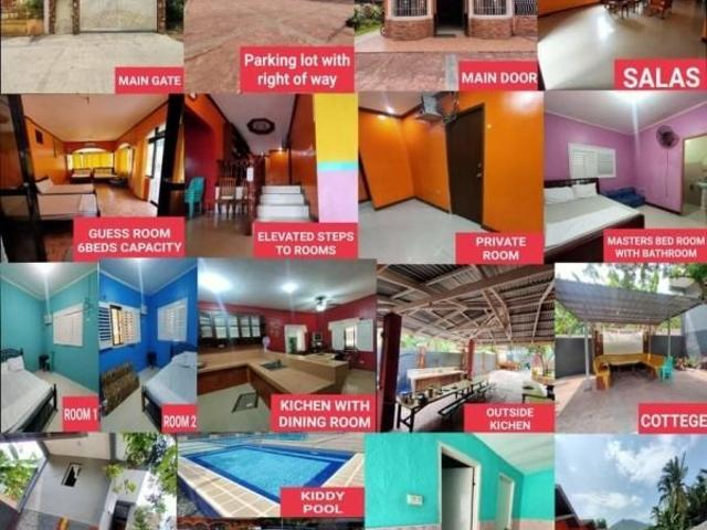 For Sale Resort With House And Lot Titled/fully Furnished
