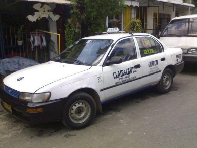 For sale taxi line up to 2014 lpg single line