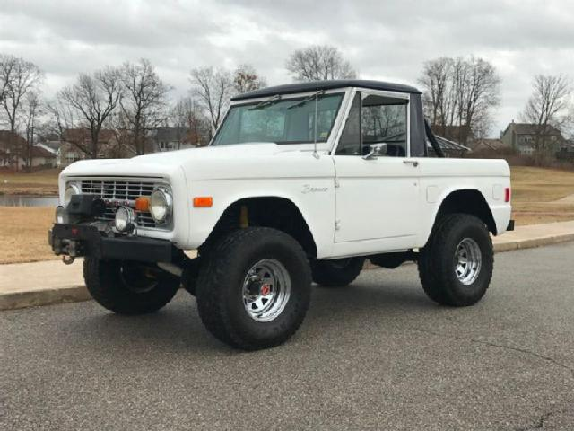 Ford Bronco For Sale Craigslist >> Ford Used Ford Bronco Half Cab Mitula Cars