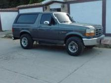 Ford bronco 1993 manual 5 litres
