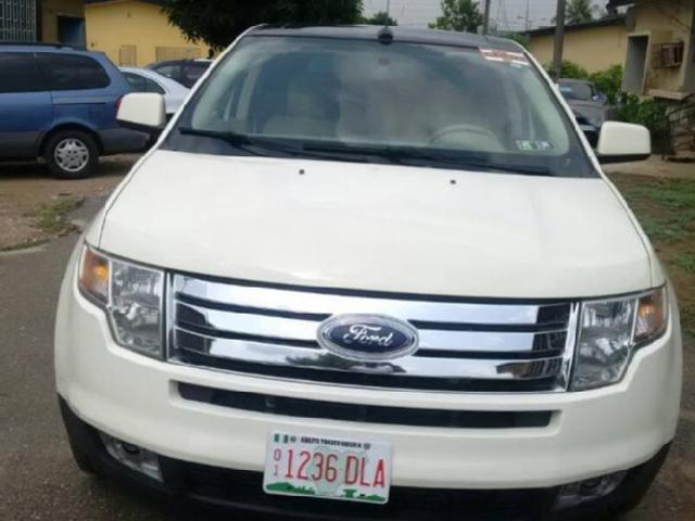 Ford Edge In Lagos Used Ford Edge Petrol  Leather Interior Lagos Mitula Cars