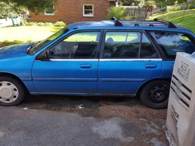 1993 ford escort wagon parts