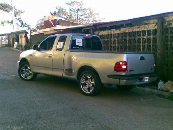 Ford f150 svt lightning edition 20 inch chrome mags and kawasaki zx6r