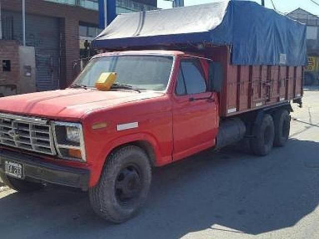 Ford f 100 1984 ford f350d 3ejes homologado titular